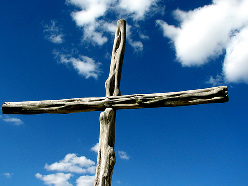 cross-against-sky