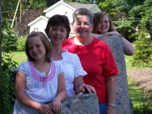Mom, Betsy and Girls