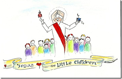 Jesus loves the children 2011