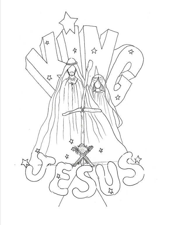 free king jesus coloring pages - photo#8