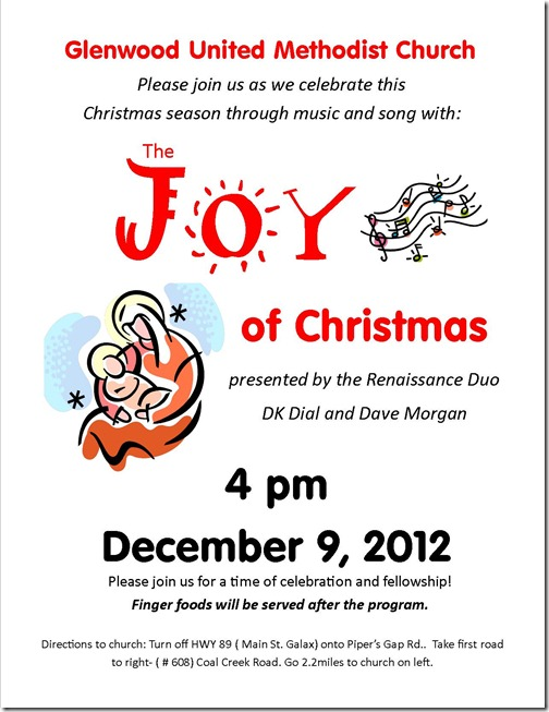 The JOY of Christmas 2012